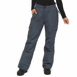 Arctix Women's Lumi Pull Over Fleece Lined Cargo Snow Pants