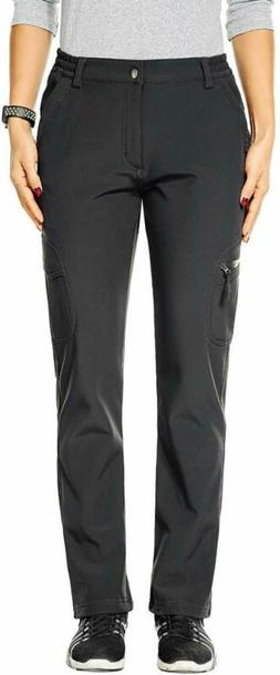 Nonwe Women'S Outdoor Water-Resistant Fleece Lined Hiking Ca