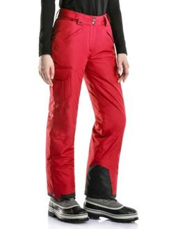Tesla Women's Red Insulated Snow Pants Size XS