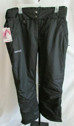 women s snow pants black sz xl
