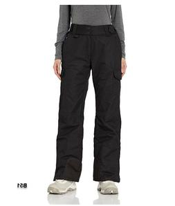 Arctix Women's Snow Sports Insulated Cargo Pants, Black, Sma