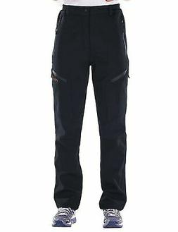 Nonwe Women's Warmth Water Resistant Snow Ski Pants 7008 Bla