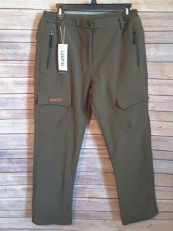 Nonwe Women's Warmth Water Resistant Snow Ski Pants Green