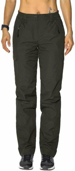 Nonwe Women'S Winter Snow Ski Pants Outdoor Water-Resistant