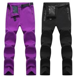 Women's Ski Pants Outdoor Winter Fleece Warm Snow Pants Hi