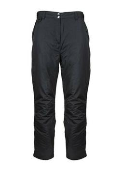 Arctic Quest Womens Insulated Ski & Snow Pants Black L or XL