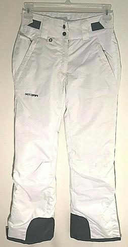 Arctix Womens Insulated Snow Pants White Extra Small Regular