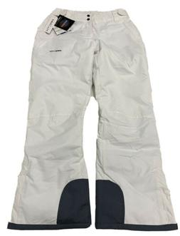 Arctix Womens Insulated Snow Pants White LARGE 12/14 NEW wit
