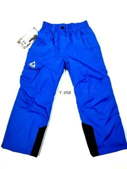 Gerry Youth Blue Outdoor Ski Snow Pants Size M-8 NWT $90 msr