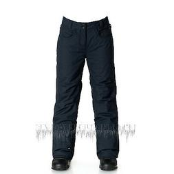 QUIKSILVER Youth Boys 2016 Snowboard Snow STATE PANTS Black