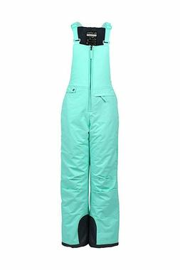 Arctix Youth Insulated Overalls Bib, X-Small, Island Azure