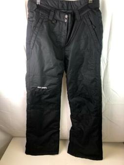 Arctix Youth Insulated Snow Pants, Black, XL