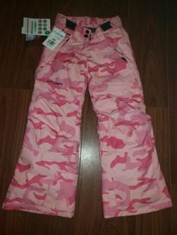 youth reinforced snow pants girl s pink