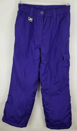 Youth ZeroXposur Snow Pants Royal Purple Size Large 14 With