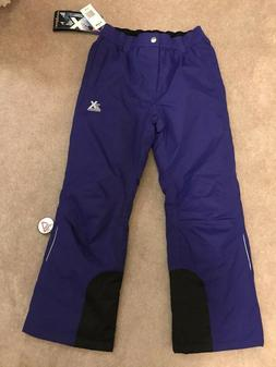 Youth Unisex XeroXposur Snow Ski Pants $32 OFF Size 14 Purpl